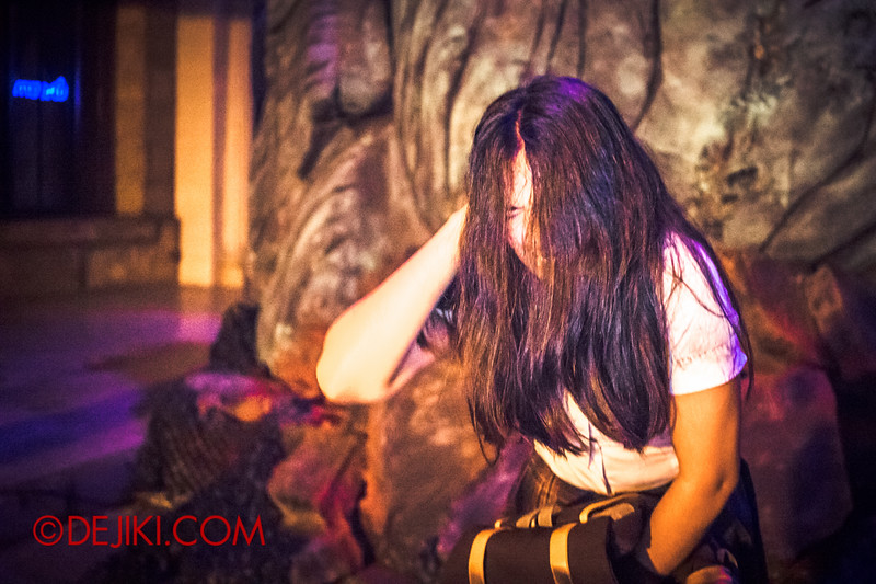 Halloween Horror Nights 4 - DEMONCRACY scare zone - Haunted by nightmares