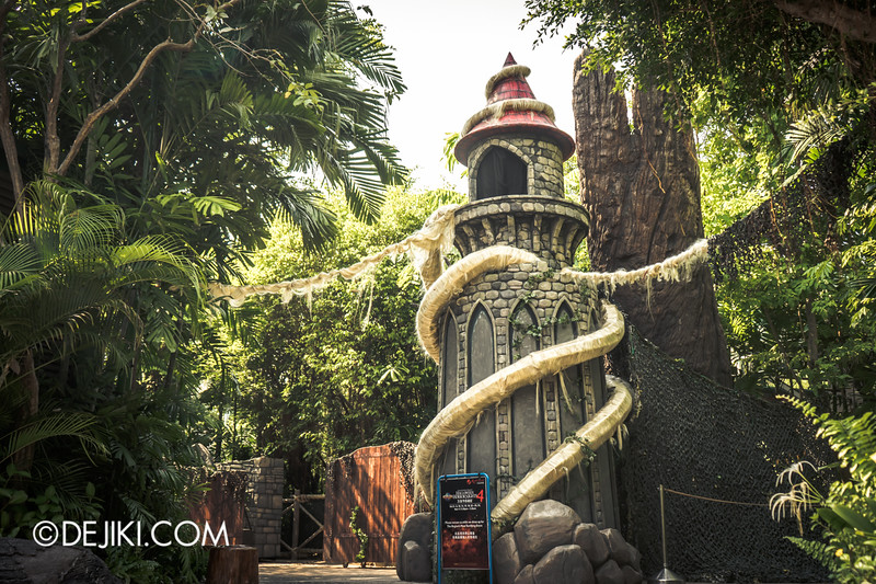 Halloween Horror Nights 4 Singapore - Before Dark 4 - Scary Tales 12 / Rapunzel's Tower