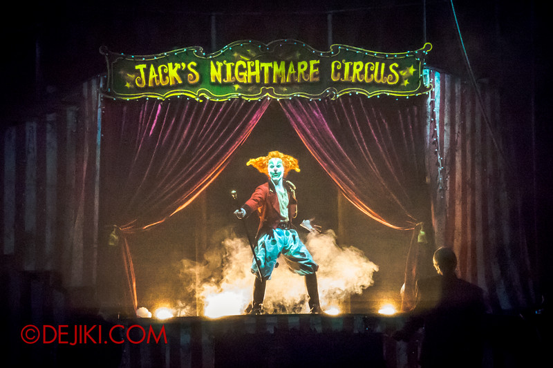 Halloween Horror Nights 4 - Jack's Nightmare Circus - Welcome to my NIGHTMARE!