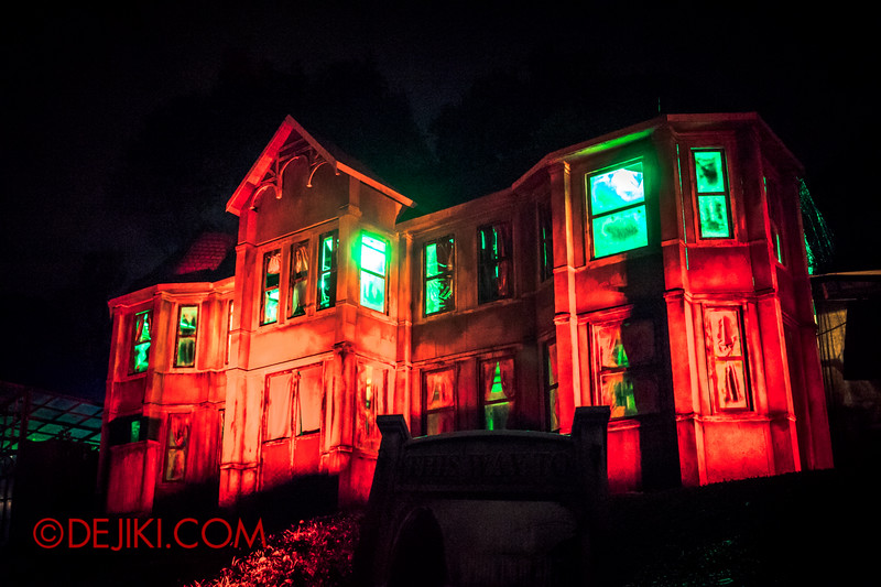 Sentosa Spooktacular 2014 - ALONE Haunted House / The House on the hill