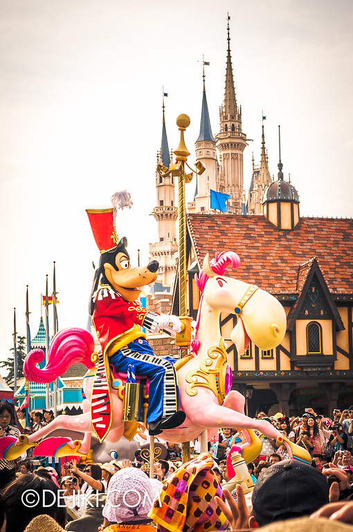 Tokyo Disneyland - Happiness is Here Parade 4 / Opening