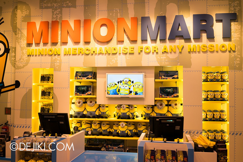 Universal Studios Singapore - Minion Mart 19