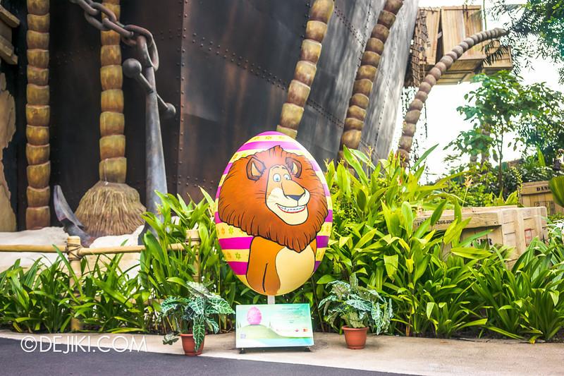 Universal Studios Singapore - Easter Egg 1