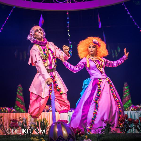 Universal Studios Singapore - Easter Eggstravaganza 2015 - Royal Lunch at Eggingham Gardens / Duke and Duchess of Yolk