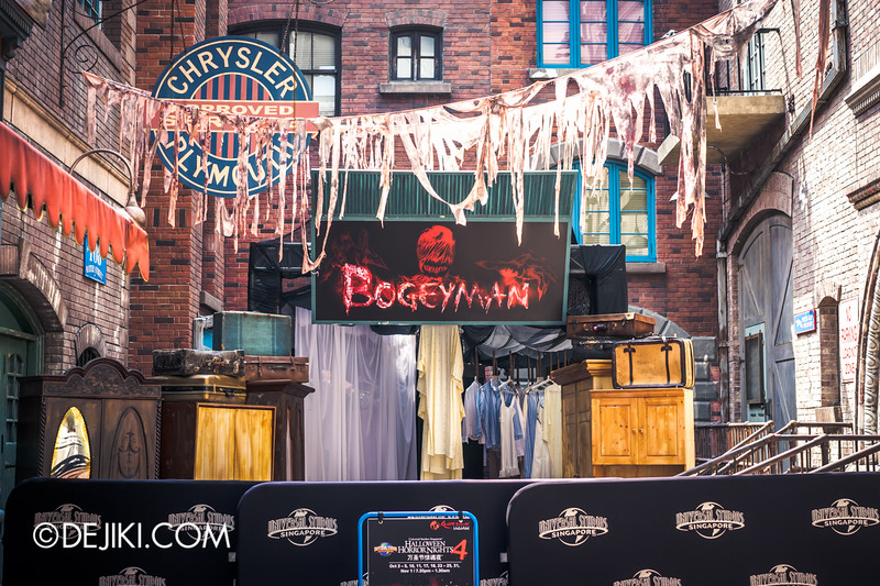 Halloween Horror Nights 4 Singapore - Before Dark 3 - Bogeyman scare zone 1