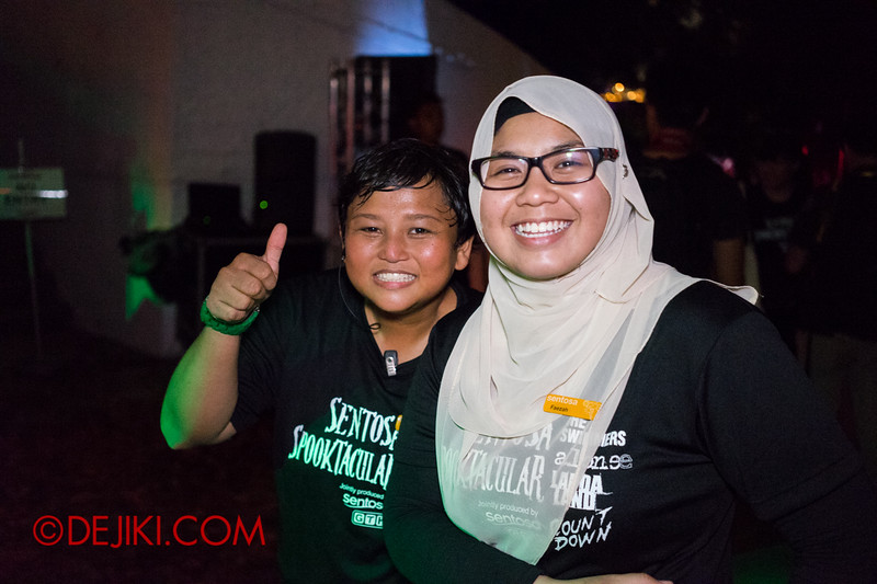 Sentosa Spooktacular 2014 - ALONE Haunted House / Friendly Crew