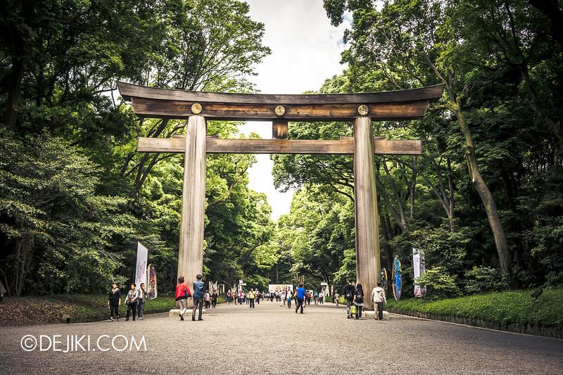 Meiji Shrine 06 - Torii