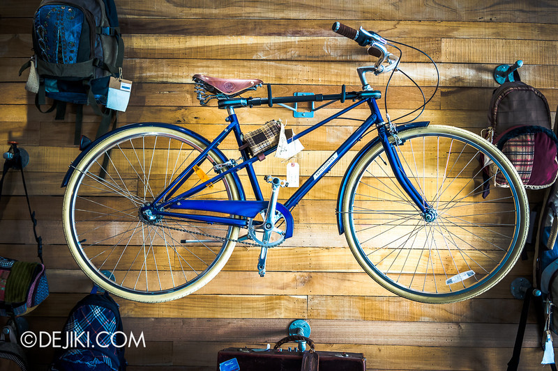 Carry On Cafe 17 - Bicycle