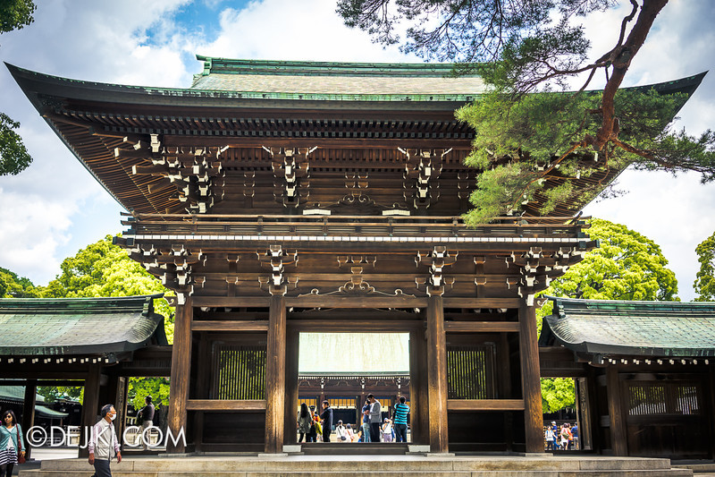 Meiji Shrine 09 - Central Shrine