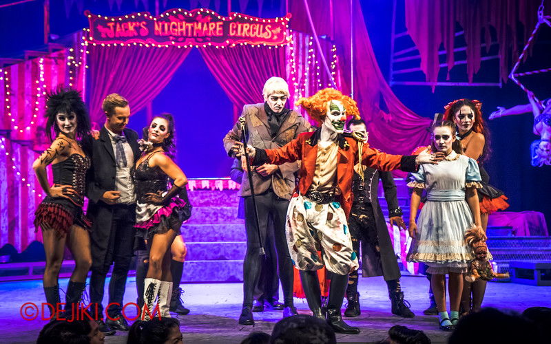 Halloween Horror Nights 4 - Jack's Nightmare Circus - Jack and his crew