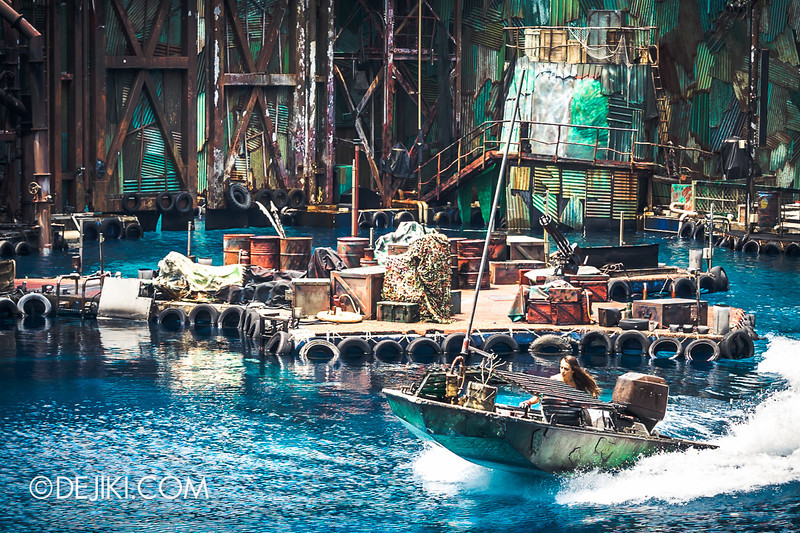 Universal Studios Singapore - Photos around the park: Waterworld 1