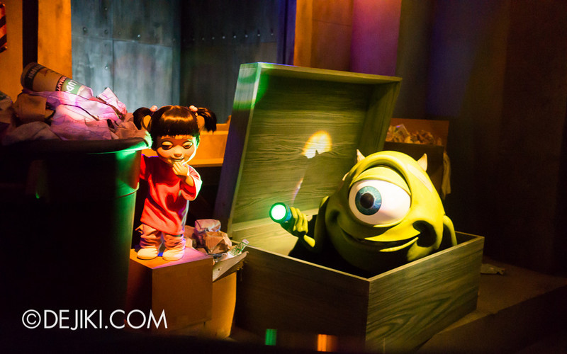 Monsters, Inc: Ride and Go Seek! on-ride experience 3
