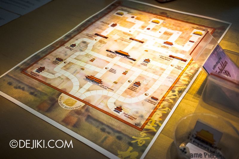 Random Blends 2014 - Forbidden City Boardgame