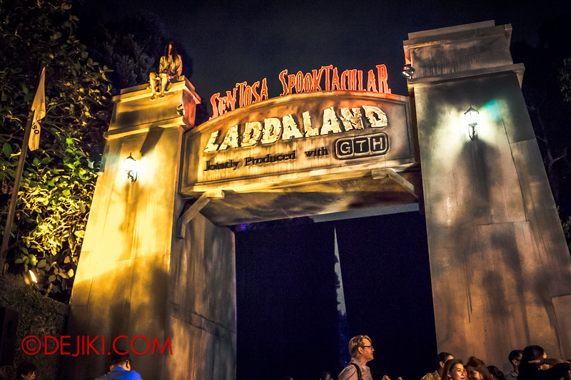Sentosa Spooktacular - LADDALAND / Gates of Goodbye