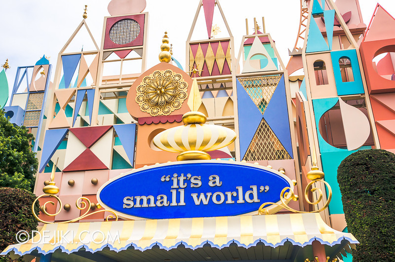 it's a small world - facade 4