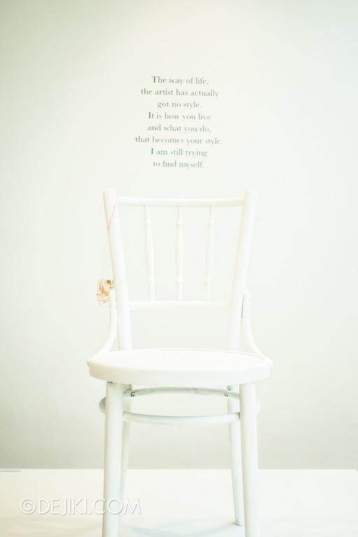 K+ gallery - keng lye: Alive without breath / Chair / Takeaway Fish