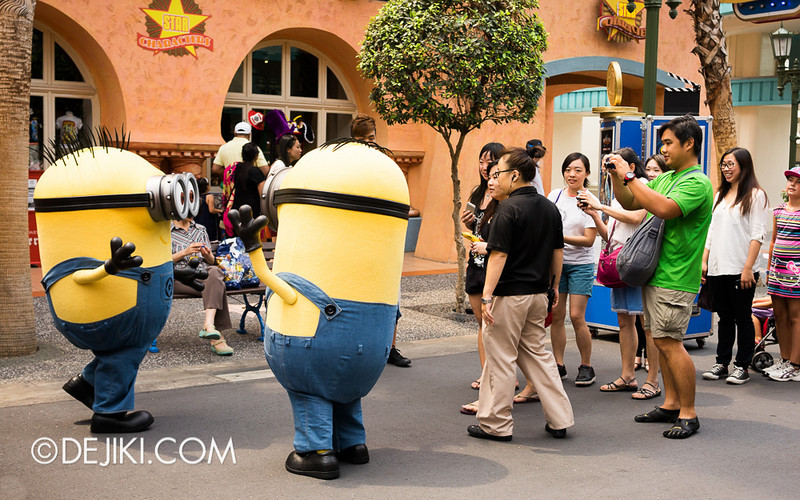 Universal Studios Singapore - Minion Photo-Op