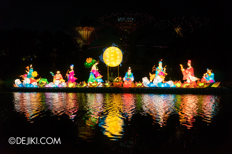 Gardens by the Bay - Mid-Autumn Festival at the Gardens 2014 - The Eight Immortals Crossing the Sea 2