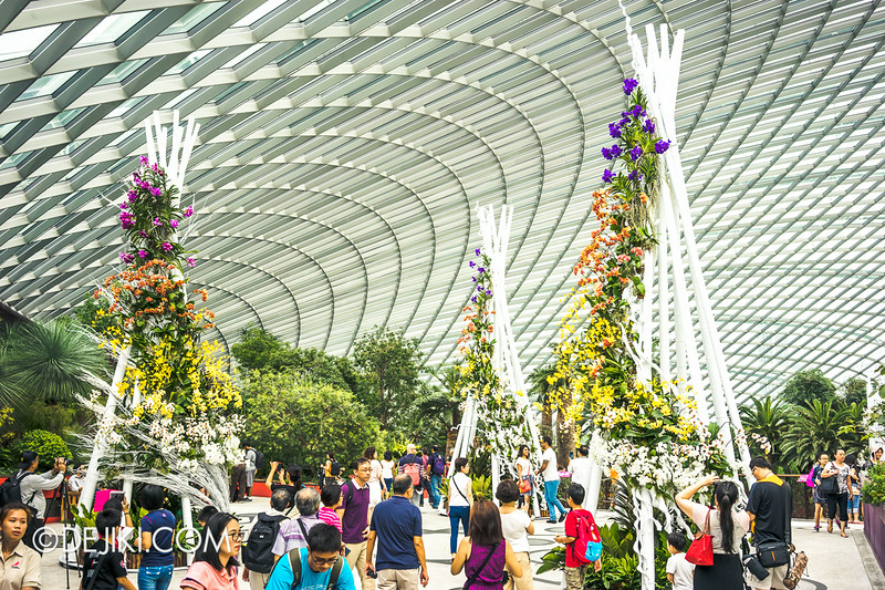 Gardens by the Bay - Orchid Extravaganza - Entrance 1