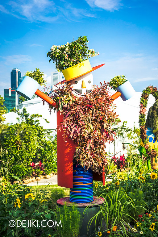 Singapore Garden Festival 2014 at Gardens by the Bay - Community in Bloom Displays 16