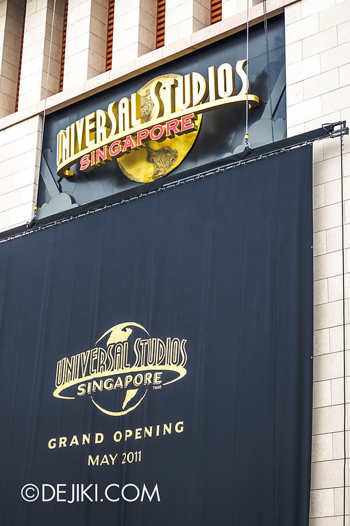 Universal Studios Singapore - Grand Opening 2011 - Cover