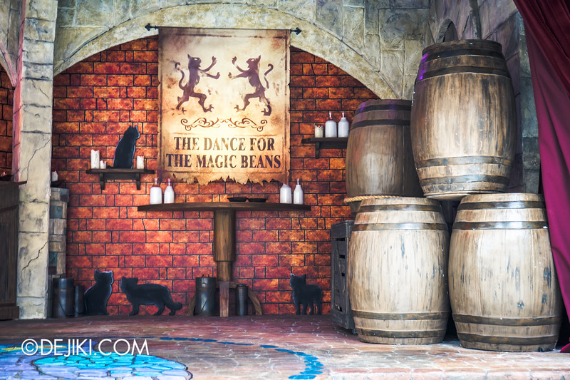 Universal Studios Singapore - Park Update September 2014 - The Dance for the Magic Beans Stage
