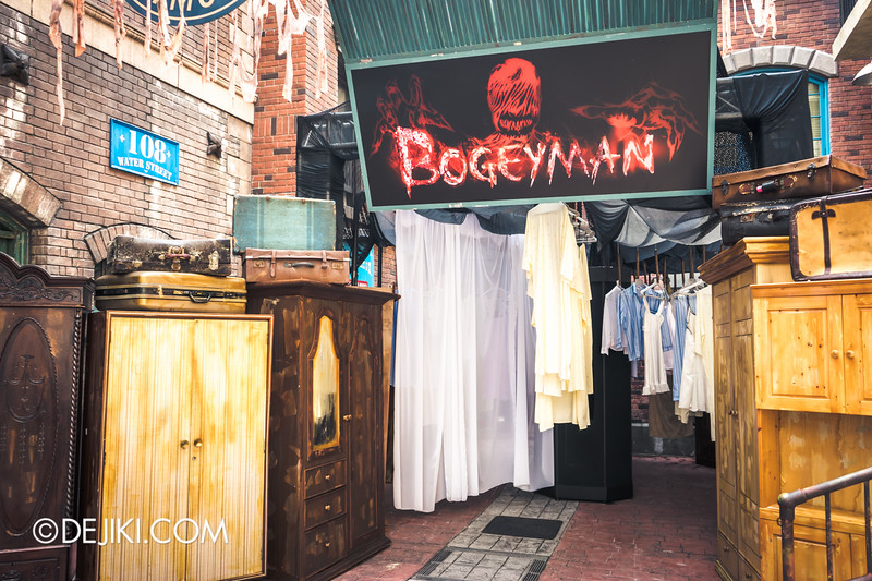 Halloween Horror Nights 4 Singapore - Before Dark 3 - Bogeyman scare zone 3