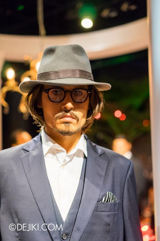 Madame Tussauds Singapore - Johnny Depp