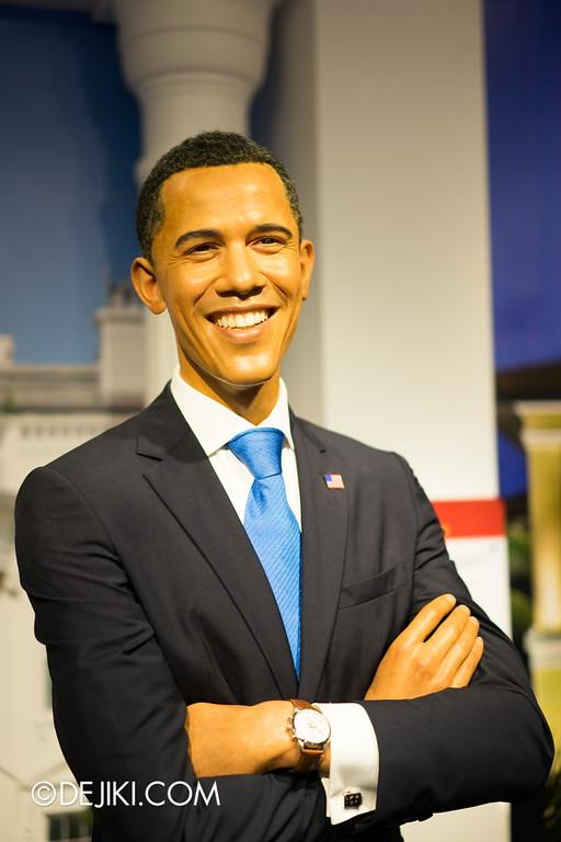 Madame Tussauds Singapore - Barack Obama