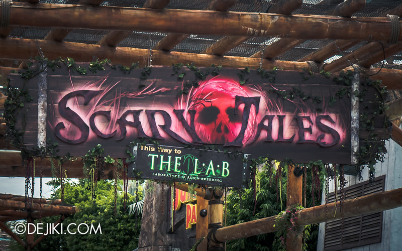 Halloween Horror Nights 4 Singapore - Before Dark 2 - Scary Tales scarezone 2
