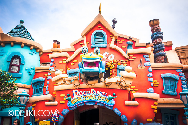 ToonTown - Roger Rabbit Car Toon Spin entrance