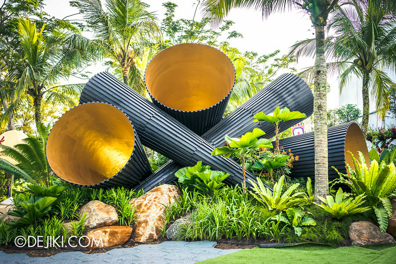 Singapore Garden Festival 2014 at Gardens by the Bay - Full Circle? 2
