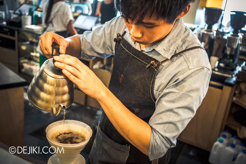 Chye Seng Huat Hardware Coffee Cafe Bar - Barista at work