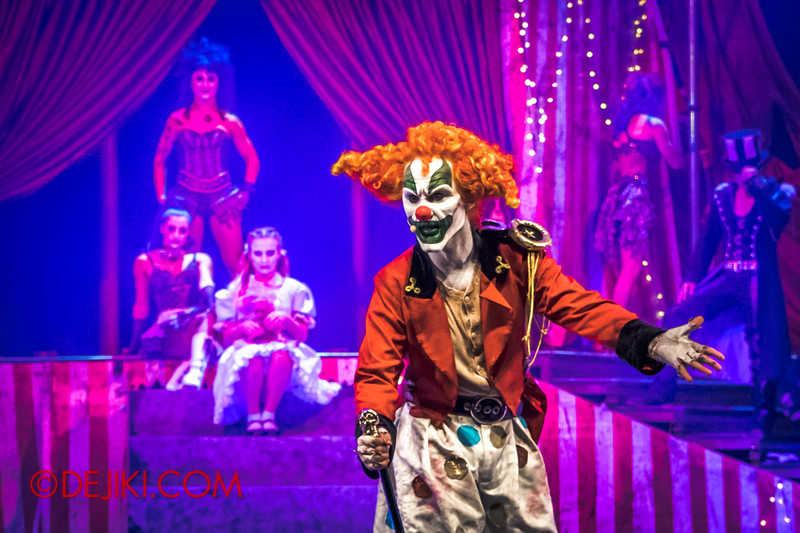 Halloween Horror Nights 4 - Jack's Nightmare Circus - Jack is not impressed
