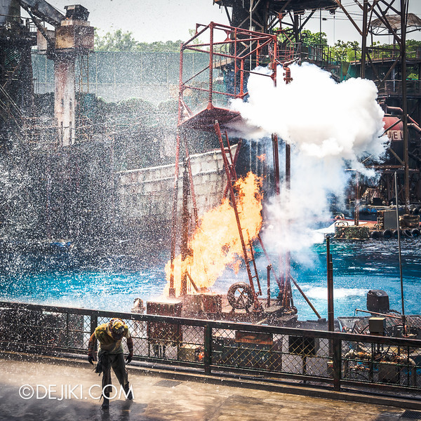 Universal Studios Singapore - Photos around the park: Waterworld 5