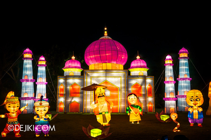 Gardens by the Bay - Mid-Autumn Festival at the Gardens 2014 - Lanterns / Racial Harmony in Singapore 3