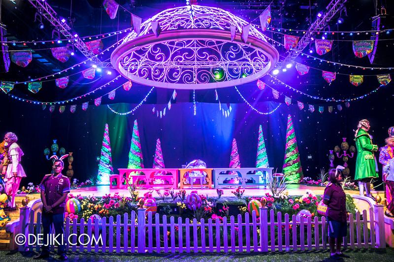 Universal Studios Singapore - Easter Eggstravaganza 2015 - Royal Lunch at Eggingham Gardens / Magical Garden