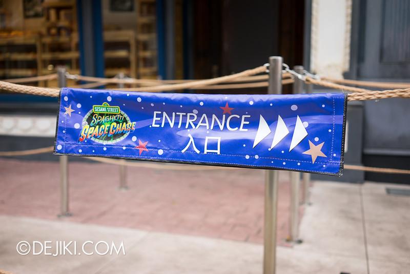 Universal Studios Singapore - Sesame Street Spaghetti Space Chase