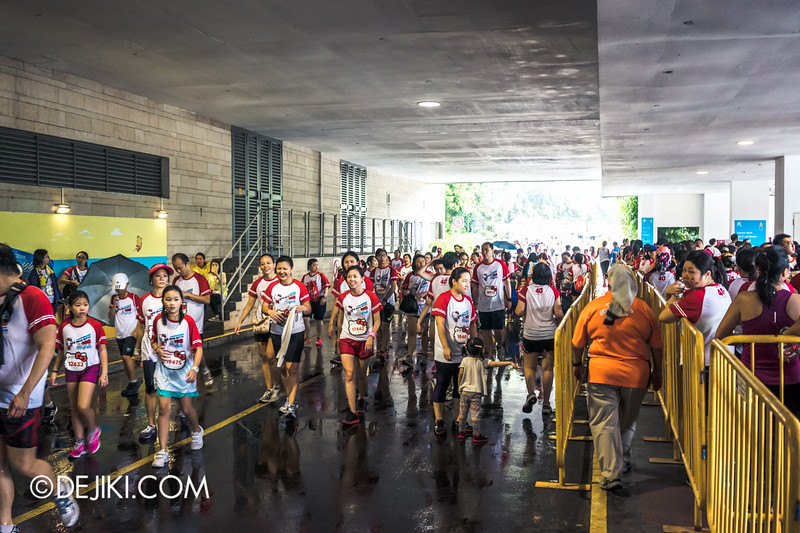 Hello Kitty Run Singapore - Beach station 2
