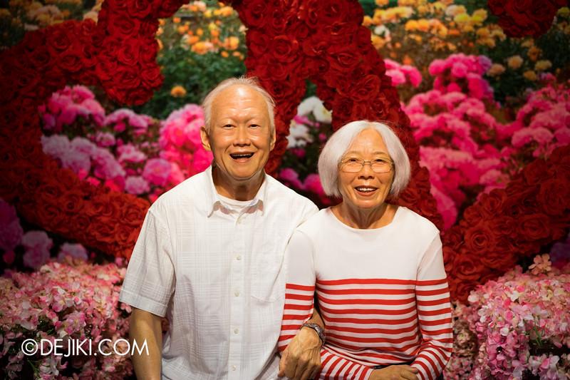 Madame Tussauds Singapore - Mr and Mrs Lee Kuan Yew (the late Mdm Kwa Geok Choo)