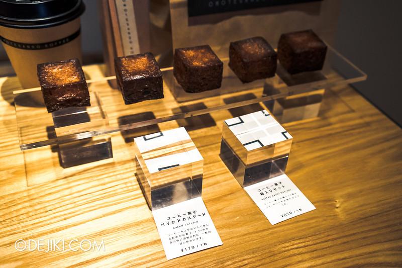 OMOTESANDO KOFFEE 11 - Koffee Kashi, Baked Custard Square