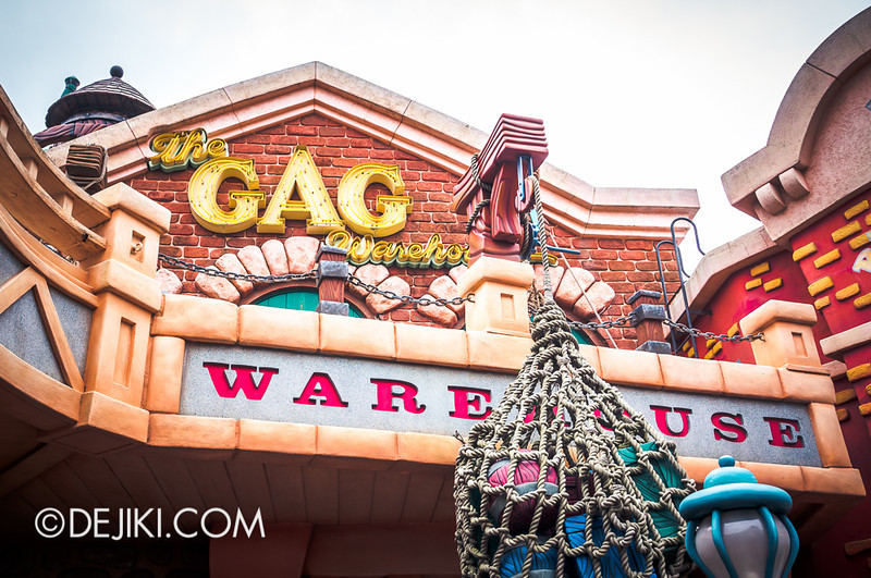 ToonTown - The Gag Warehouse