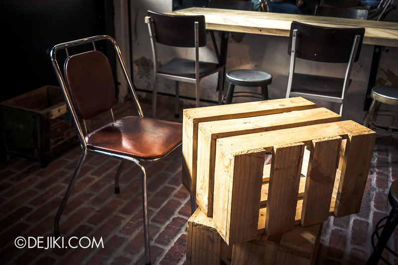 ROUSE on Dunlop - A Crate Table