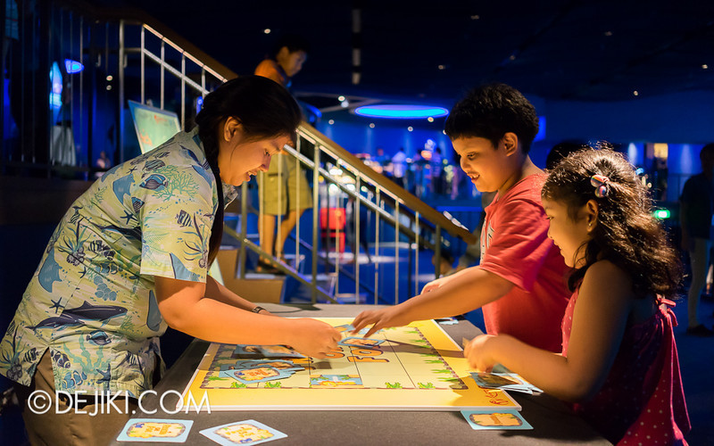 SEA Aquarium - Open Ocean Gallery Games