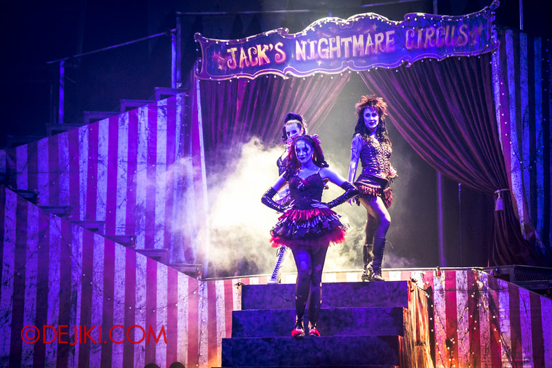 Halloween Horror Nights 4 - Jack's Nightmare Circus - The Girls / Evil is going on