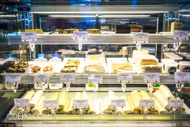 Carry On Cafe 14 - Cakes, Breads and Wraps