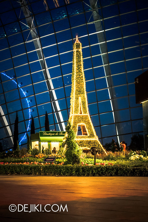 Gardens by the Bay - French Faire 31 / Eiffel Tower Night