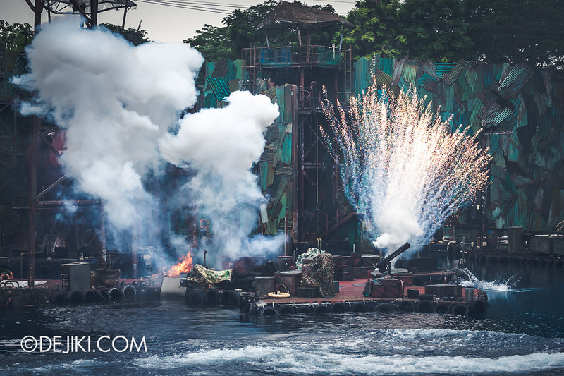 Universal Studios Singapore - Photos around the park: Waterworld 6