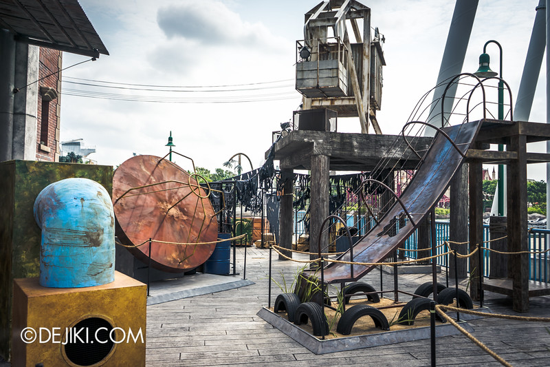 Halloween Horror Nights 4 Singapore - Before Dark 3 - Bogeyman scare zone 5