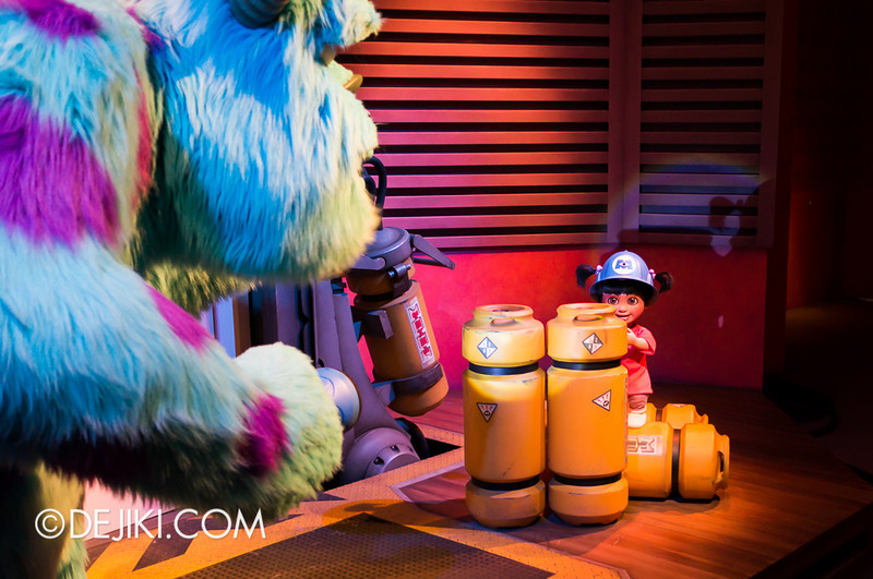 Monsters, Inc: Ride and Go Seek! on-ride experience